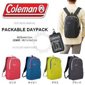 17RAGG COLEMANj BAG PACKABLE DAY PACK BLACK ASIA