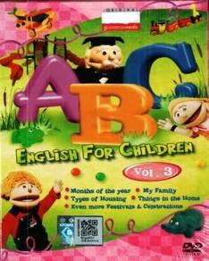 DVD ABC English For Children Vol.3