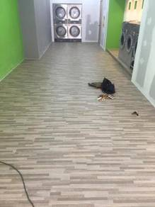 Laminate flooring and vinyl flooring- (250)