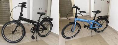 Tern foldable Node8 bikes-Excellent condition