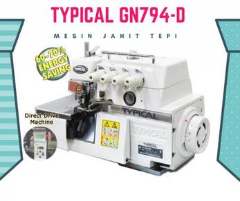 Mesin jahit typical gn794d 065206230651165