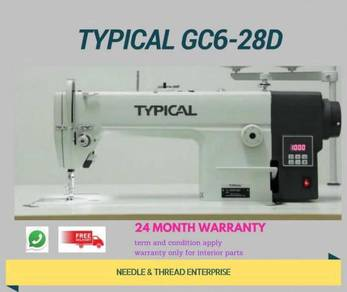 Mesin jahit lurus typical gc6-28d 9874156056410