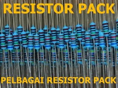 Various resistor pack pelbagai jenis resistor ohm