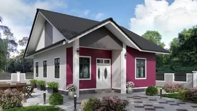 Unit Banglo Dekat Sekolah Menengah Padang Kala Untuk Dijual