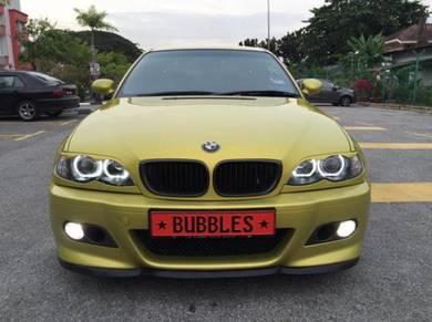 Bmw M Sport M3 E46 style front bumper