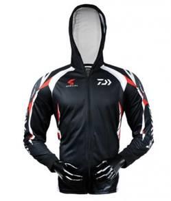 daiwa quick dry upf 50+ long sleeve jersey