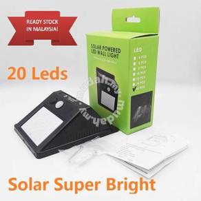 Solar Super Bright 20 LED MotionSensor PIR