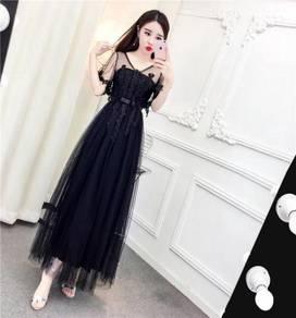 White black wedding prom bridesmaid dress RBP0791