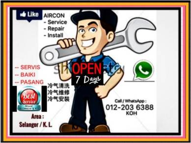 SEL/KL Aircond / Aircon - BRICKFIELDS & others