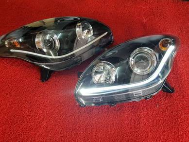 Perodua myvi led projector headlamp head lamp led