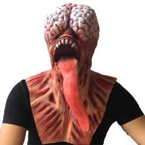 Halloween Zombie scary hollow latex mask
