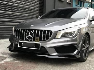 Mercedes Benz W117 CLA45 Front Lip Bodykit
