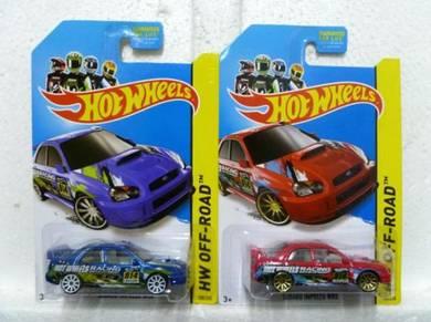Hotwheels Subaru Impreza WRX #108 Lot