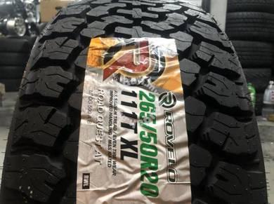 Tayar baru 265 50 20 Rovelo Road Quest AT new tyre