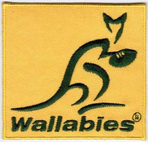 Australia National Rugby Union Team Patch