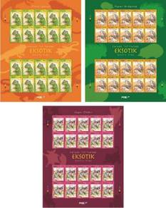 Mint Stamp Sheet Exotic Pet Malaysia 2013