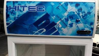 Peti Sejuk Pameran - 230L Air Tin