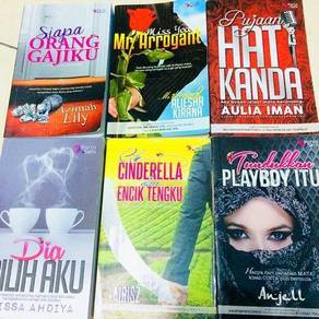 Novel terpakai/ Novel preloved
