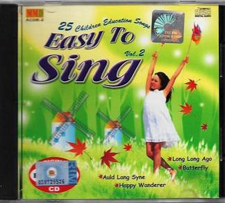 CD 25 Children Education Songs Easy To Sing Vol.2