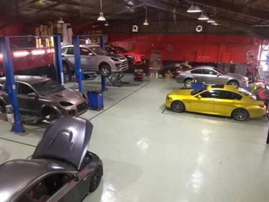 Ferrari lamborghini full car painting coating