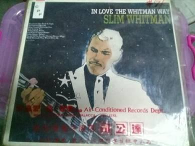 119 Piring hitam Slim Whitman lp not ep