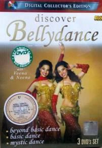 DVD Bellydance Discover 3DVD Set