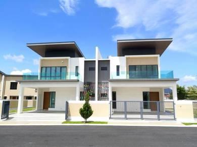 Double Storey Semi D House. Seremban 45x80