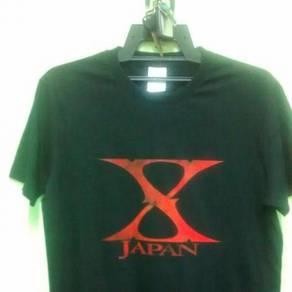 X Japan band tshirt