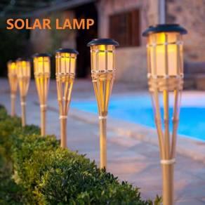 Solar bamboo weave Solar panel LED Spike