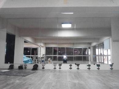 CERMIN DINDING GYM l full height wall mirror