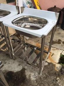 Stainless Steel 304 Sink with Backslash