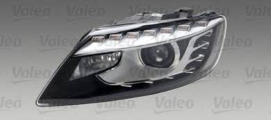 Audi Q7 4L headlight facelift headlamp