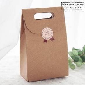 Custom made Kraft Paper Bags Shopping Bag