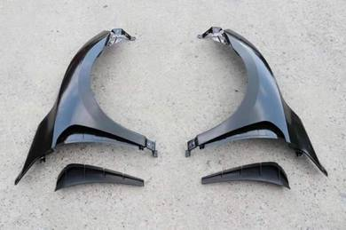 Honda civic x fc type r steel side fender arch