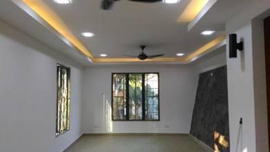 Plaster Ceiling & Drywall Partition 1102V