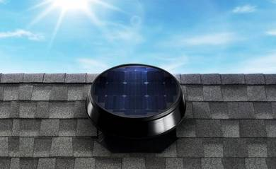 WHB18Y Solar Powered Roof Vent Exhaust Fan Germany