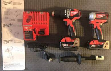 Milwaukee 2893-22CX M18 Brushless Hammer Drill