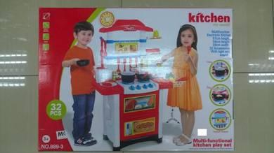 Kids Mini Kitchen Toys (Dapur Kanak Kanak )