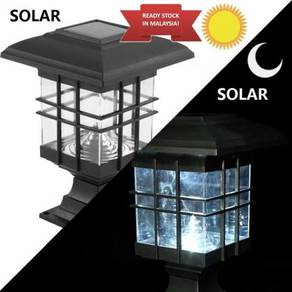 Solar Post LED Housing Solar Lamp Garden LED Outdo