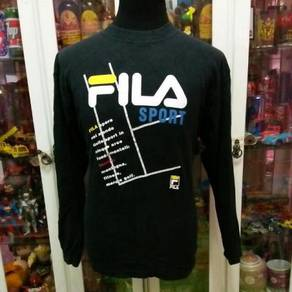 Fila Sport Big Logo Long Sleeve T Shirt