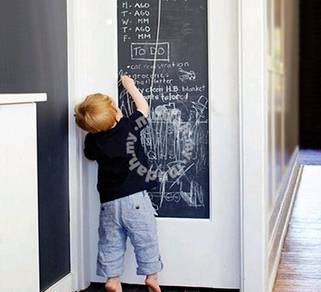 Removable Blackboard Chalkboard 60cmx200cm