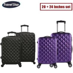 4 wheels luggage / travel bag 11