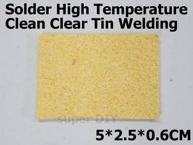 Soldering Solder Sponge High Temperature Clean Tin