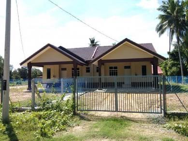 Semi D, Saiz tanah Banglo, Belakang Masjid Rhu Muda, Marang