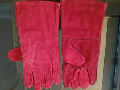 Welding leather glove