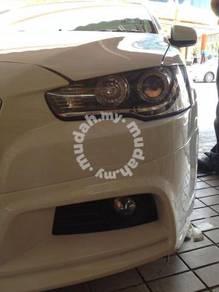 Mitsubishi Lancer Evo X inspira Projector h lamp