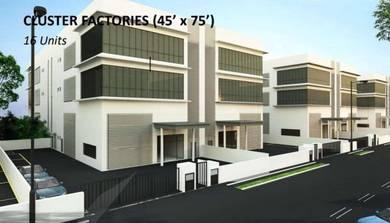 New Factories For Sale- Bukit Serdang