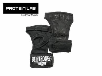 Be strong gym gloves with wrist protection