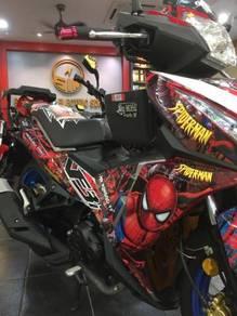 Secondhand SYM VF3 185i - Spiderman - Special