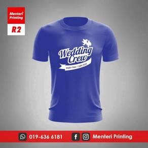 Printing Tshirt Cetak Baju Rewang R2
